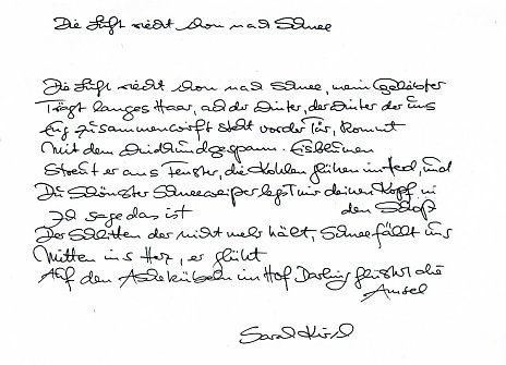 Juninovember Tagebuch 20022003 Von Sarah Kirsch