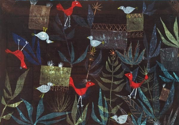 vogelgarten bebz5q0p - Paul Klee Lebenslauf